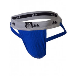 MM The Original Jockstrap Underwear Royal/Grey 2 inch (T6222)