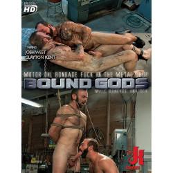 Motor Oil Bondage Fuck in the Metal Shop DVD (Bound Gods) (17062D)