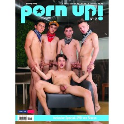 PornUp 155 Magazine + Staxus DVD