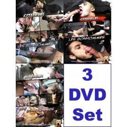 Les Bonhommes 1-3 3-DVD-Pack (Citebeur) (17036D)