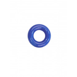RudeRider Mini Cock Ring Clear Blue (T6271)