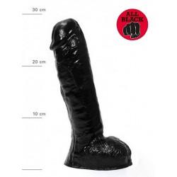 All Black Dildo `Ailean 03` 30 x 5,7 cm