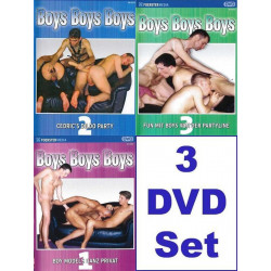 Boys Boys Boys 1-3 3-DVD-Pack (Foerster Media) (17038D)