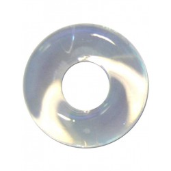 RudeRider Fat Stretchy Cock Ring Clear