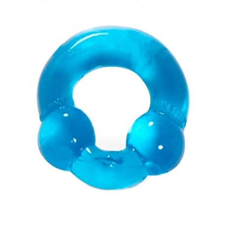 RudeRider Powerball Cockring Ice Blue (T6366)