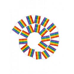 Rainbow Flag-Chain 14x21 cm 10 m (T6328)
