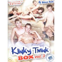 Kinky Twink Box Vol. 3 4-DVD-Set (Kinky Twink Entertainment) (17531D)