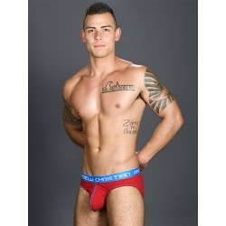 Andrew Christian Happy Brief Red w/ Almost Naked Underwear