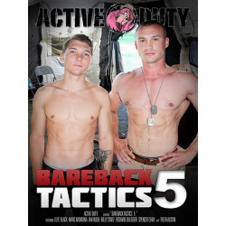 Bareback Tactics #5 DVD (Active Duty) (17400D)