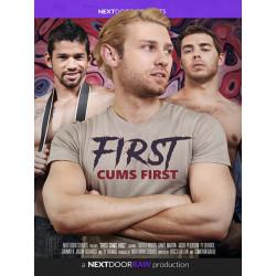 First Cums First DVD (Next Door Studios) (17228D)
