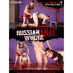 Anal Destruction: Russian Anal Whore DVD (17615D)