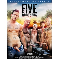 Five Brothers: Family Values DVD (Naked Sword) (17578D)