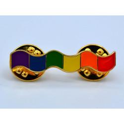 Pin Rainbow Wavy Bar (T5845)