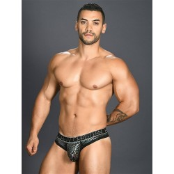 Andrew Christian Disco Animal Thong w/ Almost Naked Underwear (T6511)