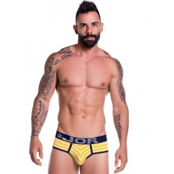 JOR Brief Travel Underwear Yellow Stripes (T6901)
