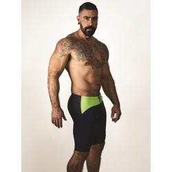 Mister B URBAN Mallorca Cycle Shorts Yellow (T7025)