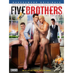 Five Brothers:The Takedown DVD (Naked Sword) (17835D)