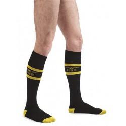 MisterB Code Yellow Football Socks (T6966)