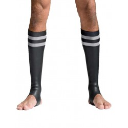 Mister B Neoprene Socks Black/Grey Tail (T7032)