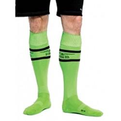 MisterB Urban Football Socks Green (T6964)