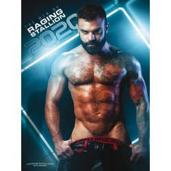 The Men of Raging Stallion 2020 Calendar (M0983)