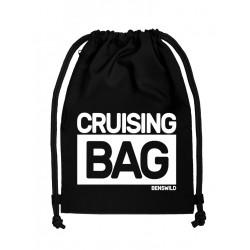BenSWild BigBag `Cruising Bag` Black/White (T7154)