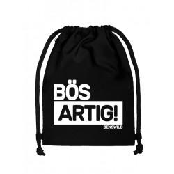 BenSWild BigBag `Bös Artig!` Black/White (T7156)