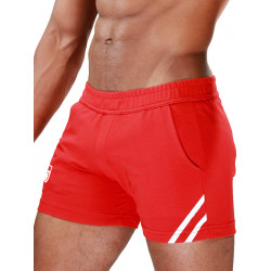 TOF Paris Shorts Red/White (T7112)