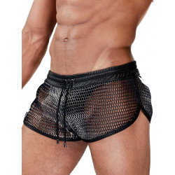 TOF Paris Roman Shorts Silver