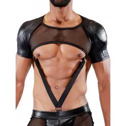 TOF Paris Spartacus Full Harness Black
