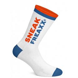 Sneak Freaxx Sniff It #2 Socks White Blue/Orange One Size (T7194)
