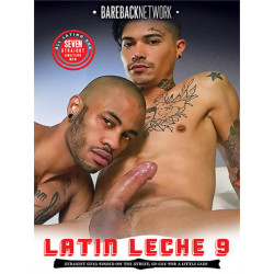 Latin Leche #9 DVD (Bareback Network) (18146D)