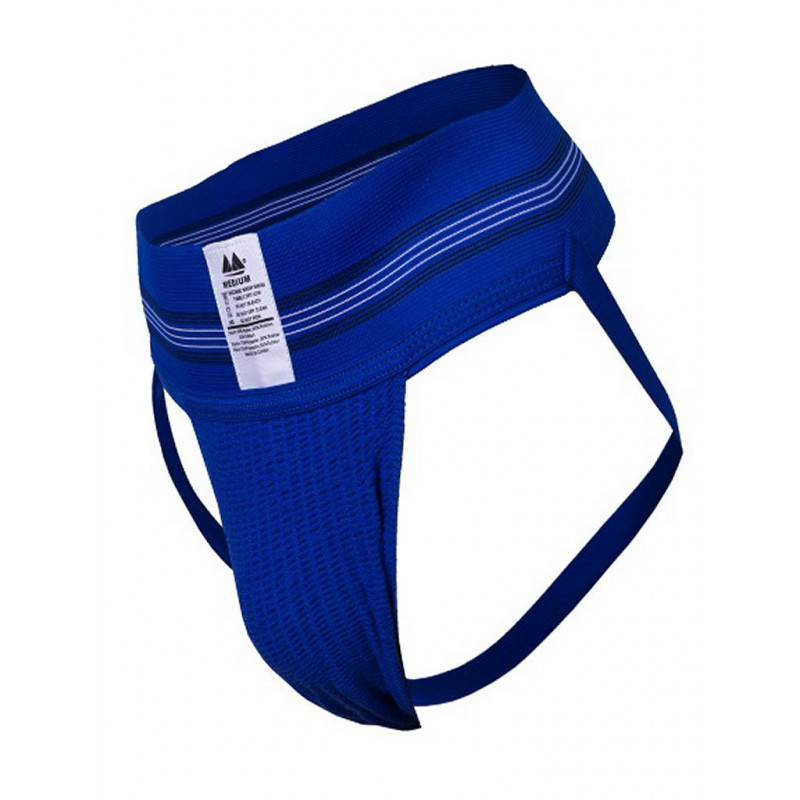 MM The Original No. 10 Jockstrap Underwear Royal 3 inch (T7417)