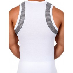 Pistol Pete Traction Tank Top White (T3440)