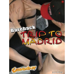 Bareback Trip to Madrid DVD (Crunch Boy) (18060D)