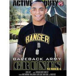 Bareback Army Grunts #6 DVD (Active Duty) (18210D)