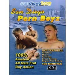 San Diego Porn Boyz DVD (San Diego Boy) (18519D)