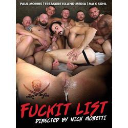 Fuckit List DVD (Treasure Island) (18571D)
