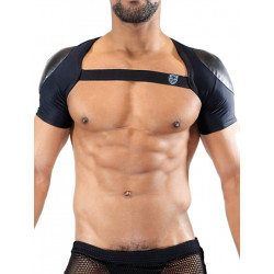 TOF Deri Full Harness Black (T7534)