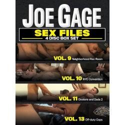 Sex Files Vol. # 9-11+13 4-DVD-Set (Joe Gage) (18636D)