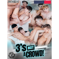 3`s Not A Crowd! DVD (Staxus)