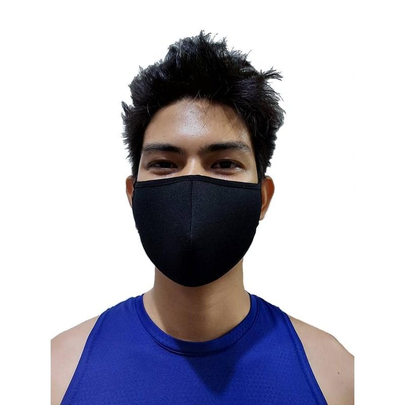 GB2 Designer Face Mask Black One Size (T7653)