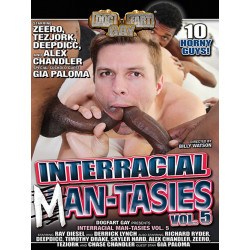 Interracial Man-Tasies #5 DVD (Dog Fart Gay) (18789D)