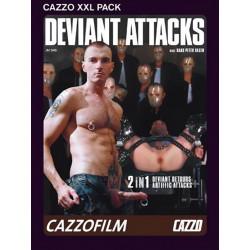 Deviant Attacks: Deviant Detours & Artiffic Attacs 2-DVD-Set (Cazzo) (04411D)