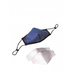 ToF Paris Fashion Seamless Mask Blue w. 2 Filters (T7715)