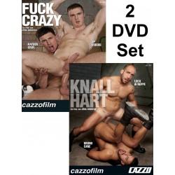 Fuck Crazy & Knallhart 2-DVD-Set (Cazzo) (18813D)