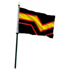 Rubber Pride Hand Flag / Handflagge (T7771)