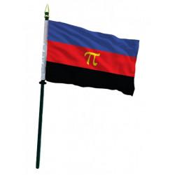 Polyamory Pride Hand Flag / Handflagge (T7772)
