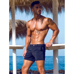 2Eros Bondi Bar Beach Swim Shorts Black (Series 2) (T7764)