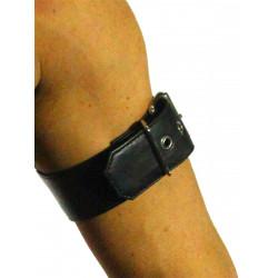 RudeRider Arm Band 2-Pack Soft Leather Black/Black (T7323)